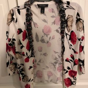 Gorgeous floral cardigan